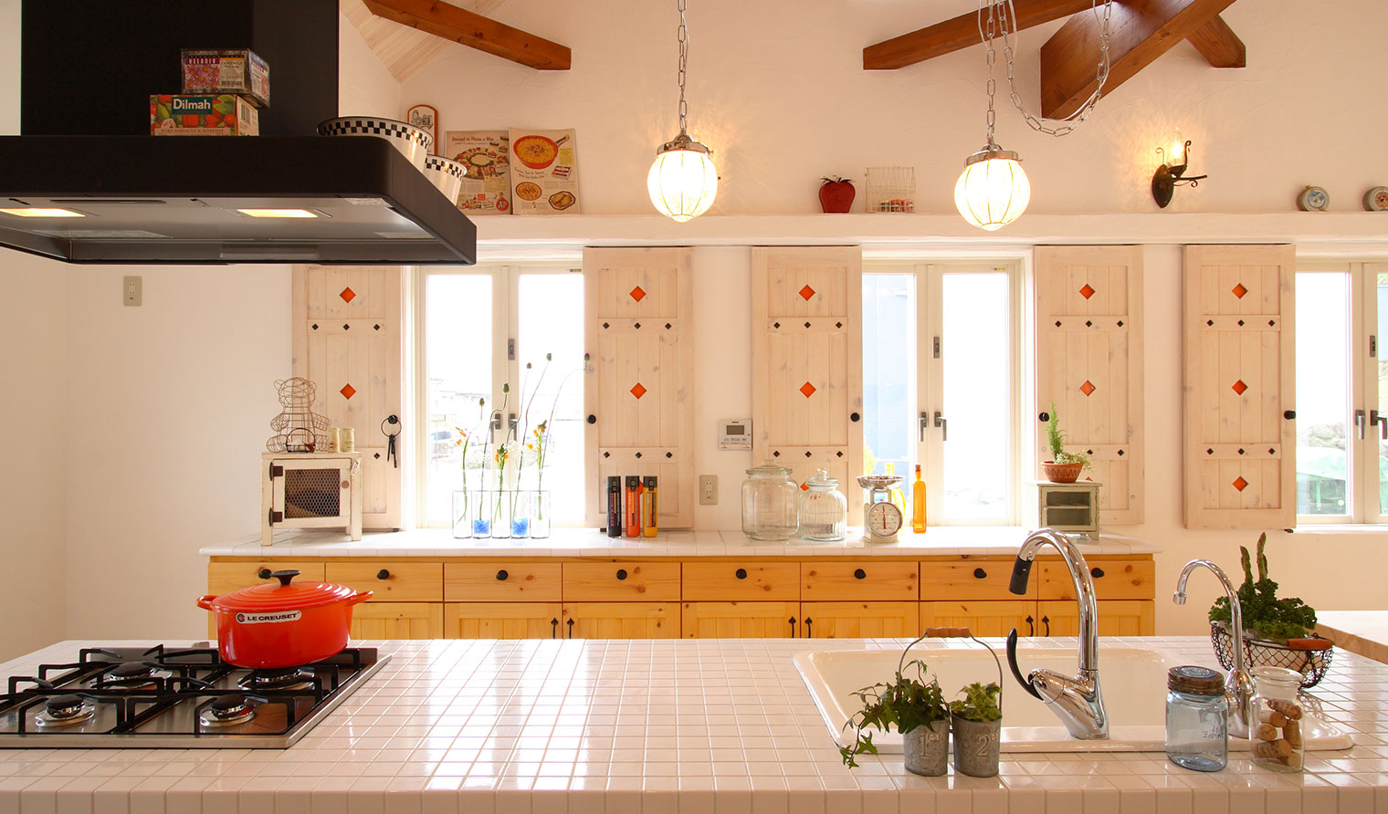 あいの家展示場|キッチン